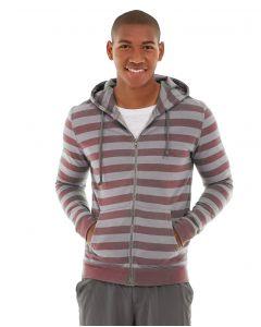 Ajax Full-Zip Sweatshirt -XL-Red