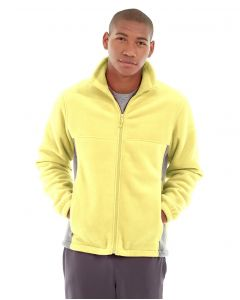 Orion Two-Tone Fitted Jacket-XL-Yellow