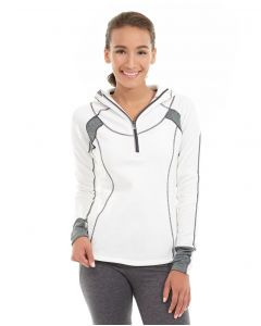 Cassia Funnel Sweatshirt-XL-White