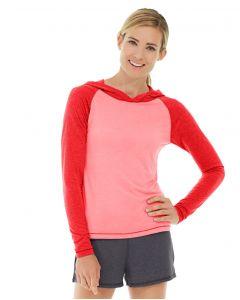 Ariel Roll Sleeve Sweatshirt-XL-Red