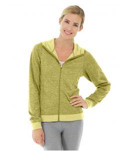 Helena Hooded Fleece-XL-Yellow