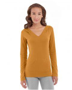 Eos V-Neck Hoodie-XL-Orange